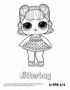 Jitterbug Coloring Page Lotta Lol