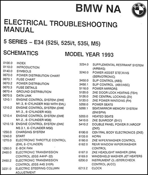 00 Bmw 325i Fuse Box Diagram by 1993 Bmw 525i 525it 535i And M5 Electrical Troubleshooting
