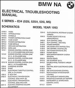 1993 Bmw 525i 525it 535i And M5 Electrical Troubleshooting
