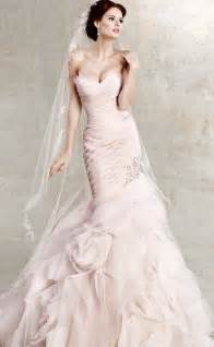 pink wedding gowns pink wedding dress dressed up