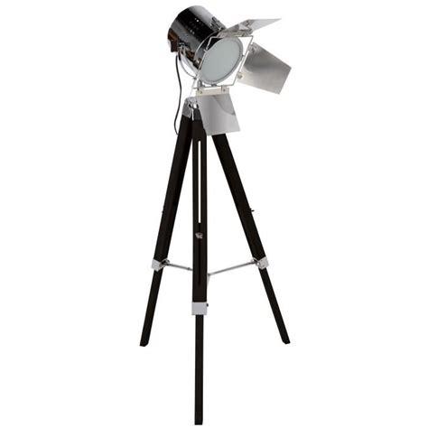 ladaire trepied style projecteur de cinema ladaire cinema noir achat vente ladaire cinema noir bois m 233 tal soldes d 232 s le 10