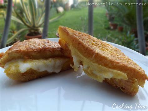Ricetta Della Mozzarella In Carrozza by Mozzarella In Carrozza Cooking Time