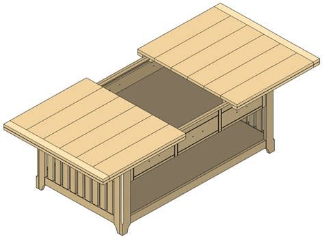 DIY Plans A Coffee Table With Storage Download portable ...