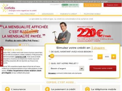 credit cofidis avis cofidis espace client mon compte credit cofidis mobile www cofidis fr