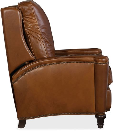 Light Leather Recliner by Rylea Light Brown Leather Recliner Rylea