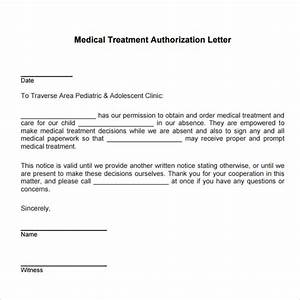 medical treatment authorization letter template child With sample letter of consent for medical treatment