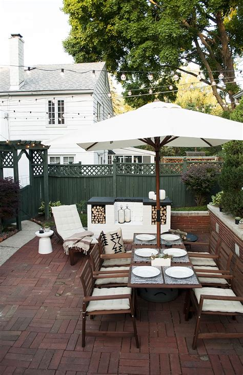 Outdoor Dining Furniture Ideas by Patio Reveal Landscaping Ikea Patio Patio Outdoor Dining