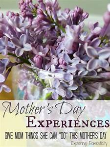 Mother's Day Experiences Instead of Gifts ⋆ Exploring ...