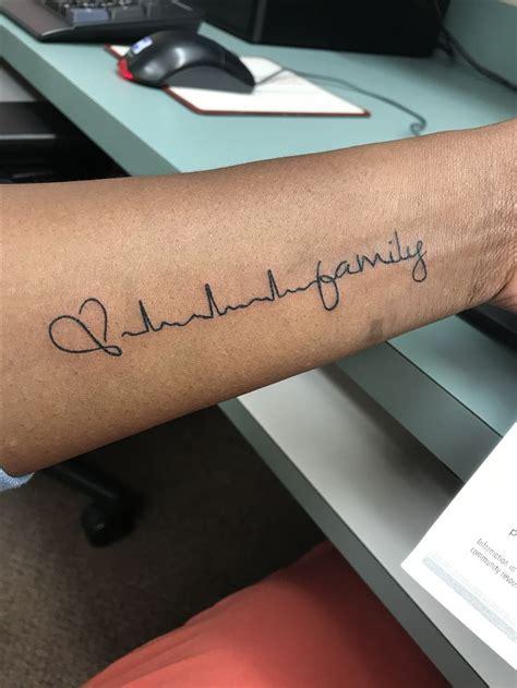 die besten  ekg tattoo ideen auf pinterest herzschlag