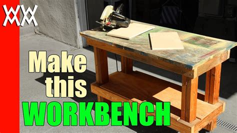Pallet Wood Workbench Plans