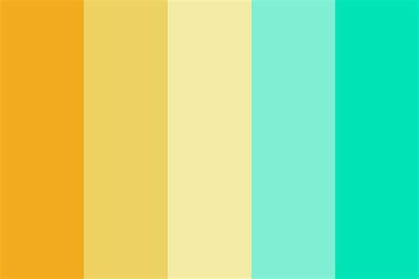Summer Girl Color Palette