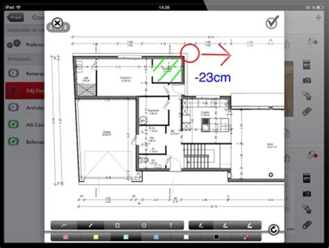 home design 3d et archireport s am 233 liorent sur iphone et
