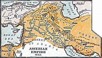 Assyrian Empire Assyrians Map Bc 700 History