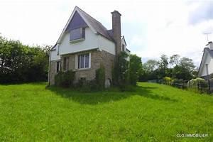 Maison Années 30 : a vendre maison 130 m la foret fouesnant cailliau le garo immobilier ~ Nature-et-papiers.com Idées de Décoration