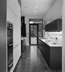 Exquisite Two Tone White And Grey Kitchens Decors For