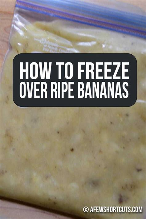 how to freeze bananas how to freeze over ripe bananas a few shortcuts