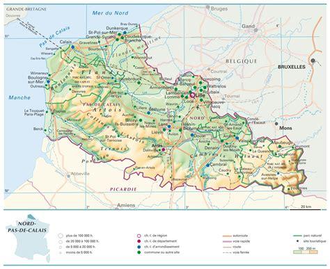 cuisine du nord pas de calais infos sur carte du nord pas de calais avec villes et