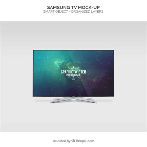Tv Free Samsung Tv Mockup Psd File Free