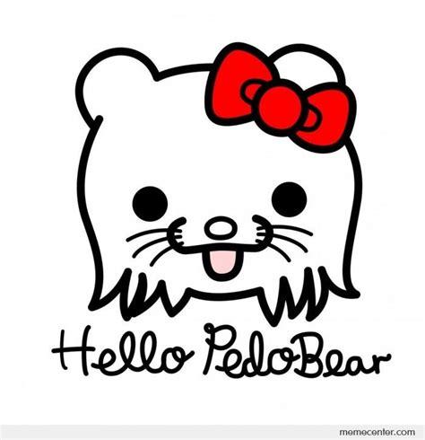 Hello Kitty Meme - hello pedobear by ben meme center