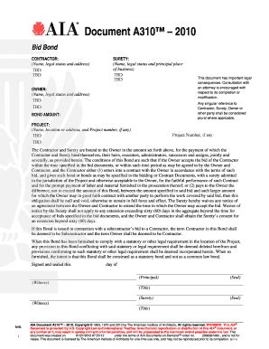 aia a305 fillable form free aia document a310 fill online printable fillable