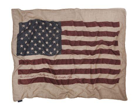 canapé américain jeté de canapé drapeau américain