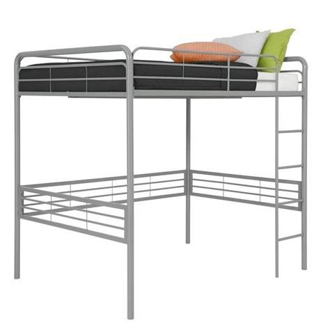 Dhp Loft Bed dhp metal loft bed silver