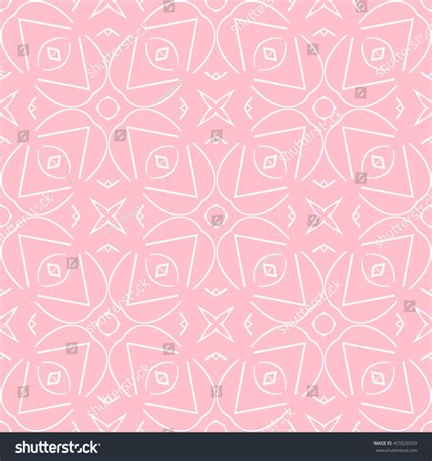 Abstract Pattern Background Pink Colors Vector Stock Abstract Seamless Pattern Pink Color Wallpapers Stock