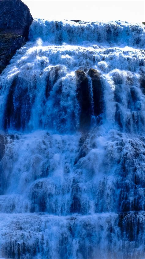 Wallpaper Iphone 7 Water Fall by Spectacular Waterfalls From Bottom View 1080x1920 Iphone