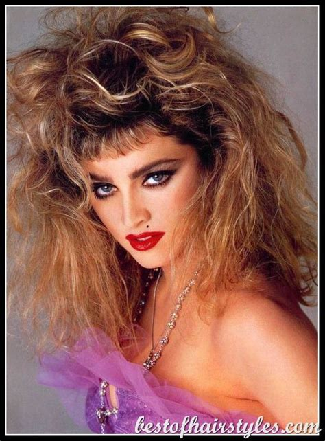 Madonna 80s Hairstyles by 1980s Hairstyles Madonna Hair Styles Of A Period