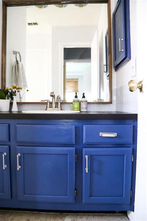 Weekend Bathroom Makeover Reveal  Love & Renovations