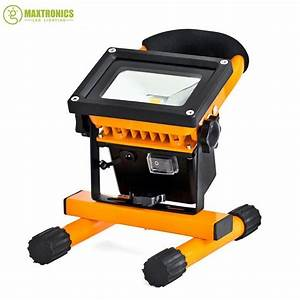 Emergency battery flood lights : W rechargeable led flood lighting