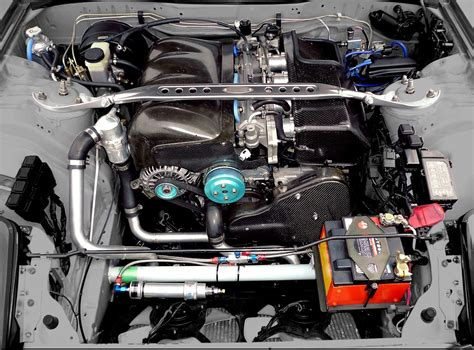 Scoot 4-rotor Rx-7 Fd3s Engine Bay