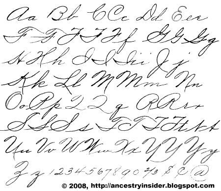 I Want To Learn Palmer's Method For Handwriting How Romantic And Beautiful Is The Writing Of
