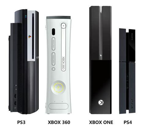 ps4 console vs xbox one ps4 vs xbox one console size comparison gamingreality