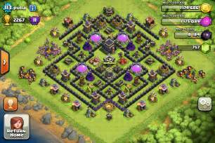 Best Town Hall 9 Trophy Base