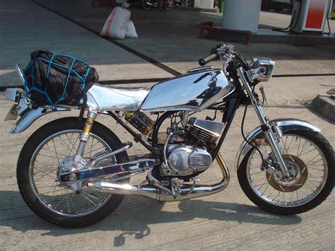 jual yamaha rx king foto gambar modifikasi motor air brush rx king dan matic
