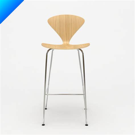 cherner stool chrome metal stl finder searching 3d models for norman cherner table