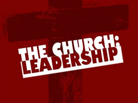 godly church leadership structure