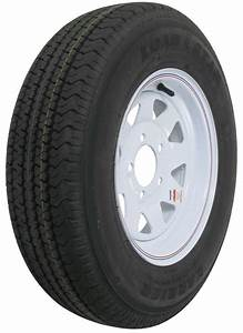 Karrier St175  80r13 Radial Trailer Tire With 13 U0026quot  White