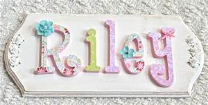 name signs wooden letters for nursery and wooden letters With photo letter name signs