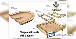 Chair Seat Scooping Jig • WoodArchivist
