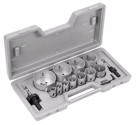 coffret scie cloche scie cloche et scie 224 guichet les outils de l 233 lectricien pour le placo