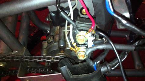 Pocketbike Motor Selenoid Buzzing Youtube