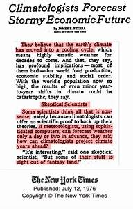 1970s Global Cooling Scare   Real Science
