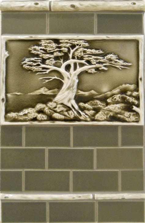 pratt  larson tile contemporary craftsman