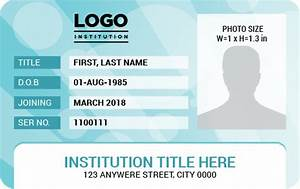 Ms Word Photo Id Badge Templates For All Professionals