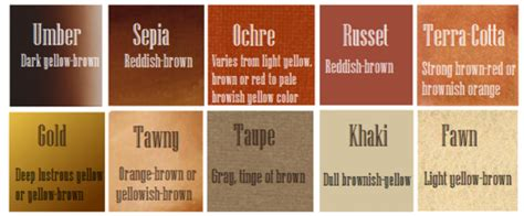 words to describe color writing with color writing with color description guide