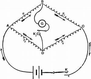 Arrangement Of Battery  Resistance  And Galvanometer