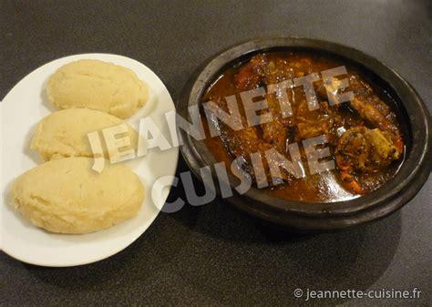 cuisine sauce ivoirienne kabato sauce djoumblé plat africain jeannette cuisine