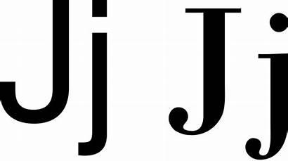 Letter Jj Svg Alphabet Latin Wikipedia Bestand